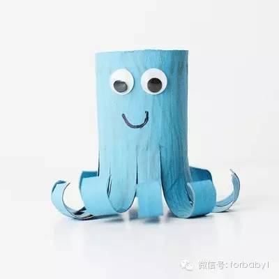 卫生纸筒纸艺花的手工制作教程