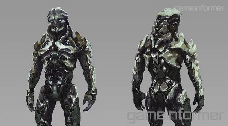 外星人Kett设计原画