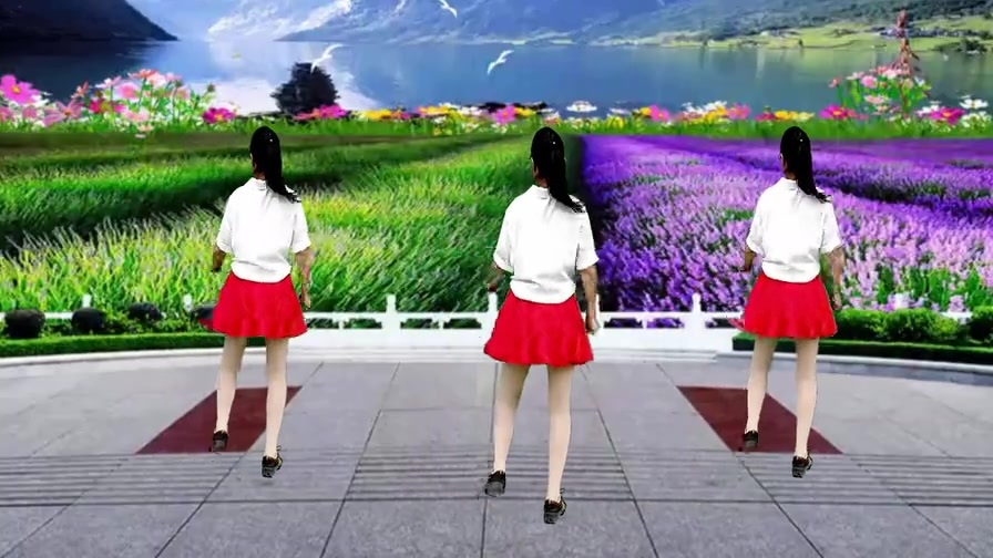 网红热曲广场舞《伴君谣》动感欢快好看,附教学