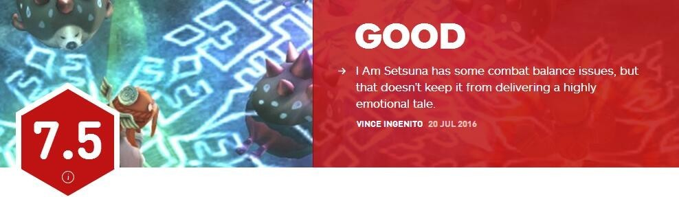 《我是刹那》IGN评分7.5