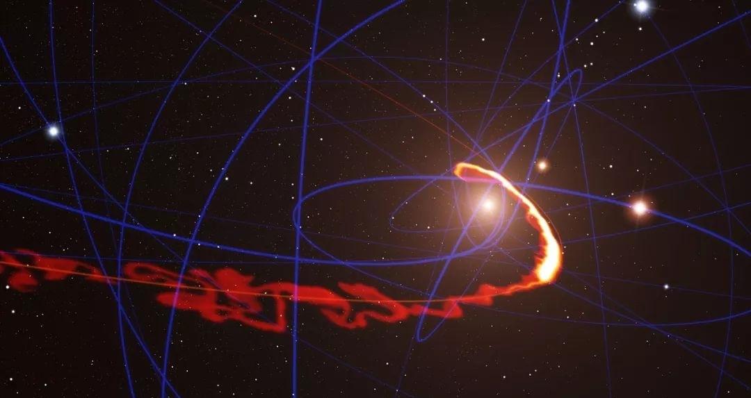 银河系中心黑洞出现神秘爆发!亮度暴增75倍,究竟发生了什么?