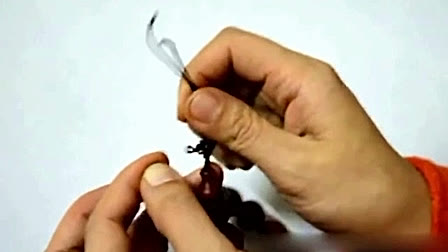小叶紫檀中国结编法 佛珠手串手链如意结打结