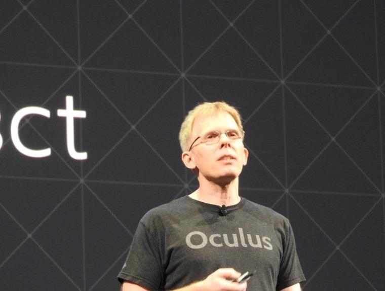 Oculus首席技术官约翰·卡马克