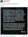 顽皮狗:《最后生还者2》没有多人模式 但在开发一种在线体验