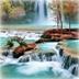 仙境瀑布动态壁纸