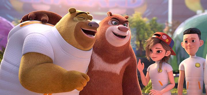 《熊出没·狂野大陆》看熊72变