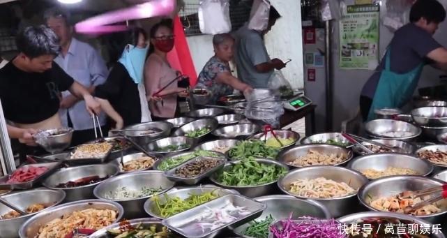 徐州大姐做美食小吃12年,50多种凉菜随意选,都是下酒开胃菜