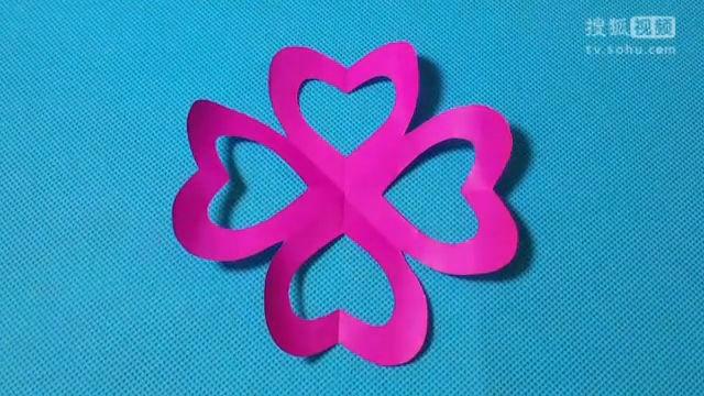 折纸王子剪纸轴对称步骤