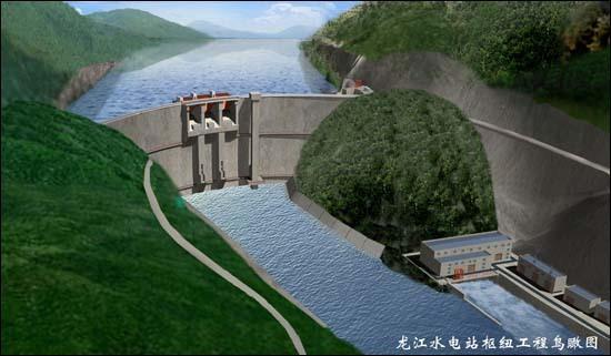 水电站主接线图符号解释