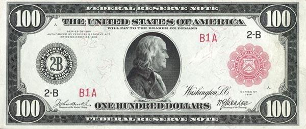 美元100元纸币图片上的人物是谁