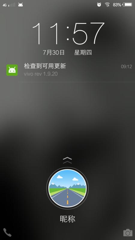 vivox5m锁屏壁纸问题