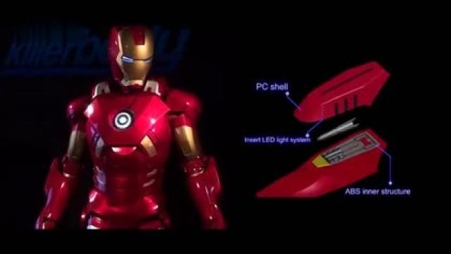 钢铁侠盔甲制作过程