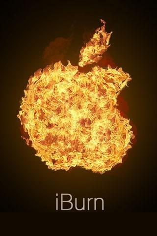 超酷三维苹果壁纸
