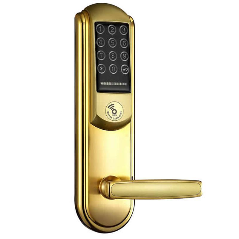 电子钥匙式电子锁电路图