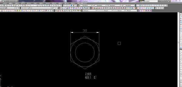 CATIA中1:1投2D图,转到CAD中太大了,想让他cad04破解版图片