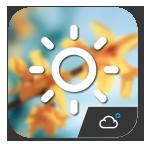 G3 Style Clock Weather Widget