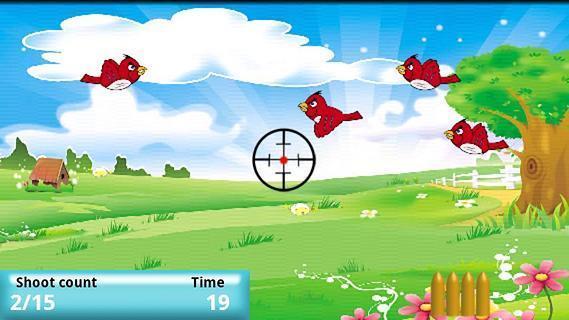 游戏 飞行射击 打小鸟