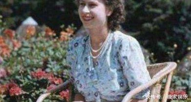 英国女王年轻时到底有多漂亮,令菲利普王子果断放弃了王位