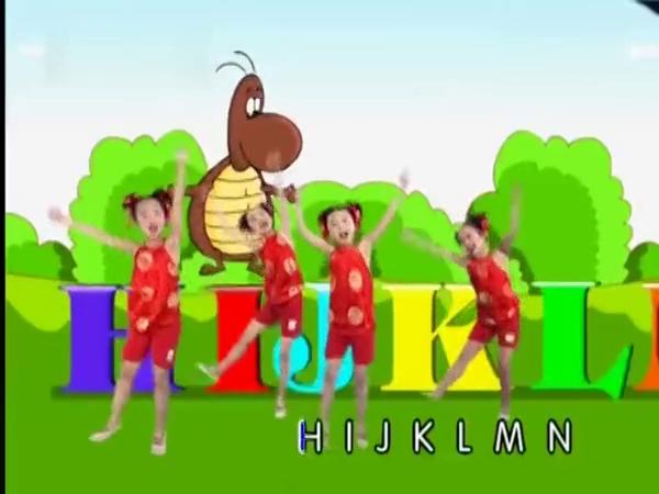 兒童舞蹈 英文字母歌 幼兒舞蹈視頻
