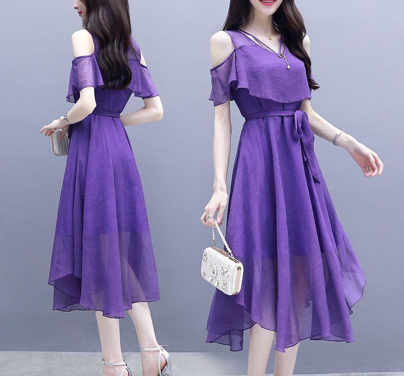 女性时尚话 充满时尚女人味的夏季连衣裙,款式洋气减龄,打造优美的身形