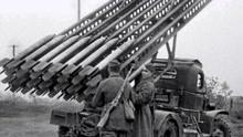 苏德战争前期,尽管德军占据优势,但仍被苏联的喀秋莎火箭炮重创
