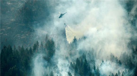 最严重的火灾形势:瑞典森林大火蔓延 多地民众撤离