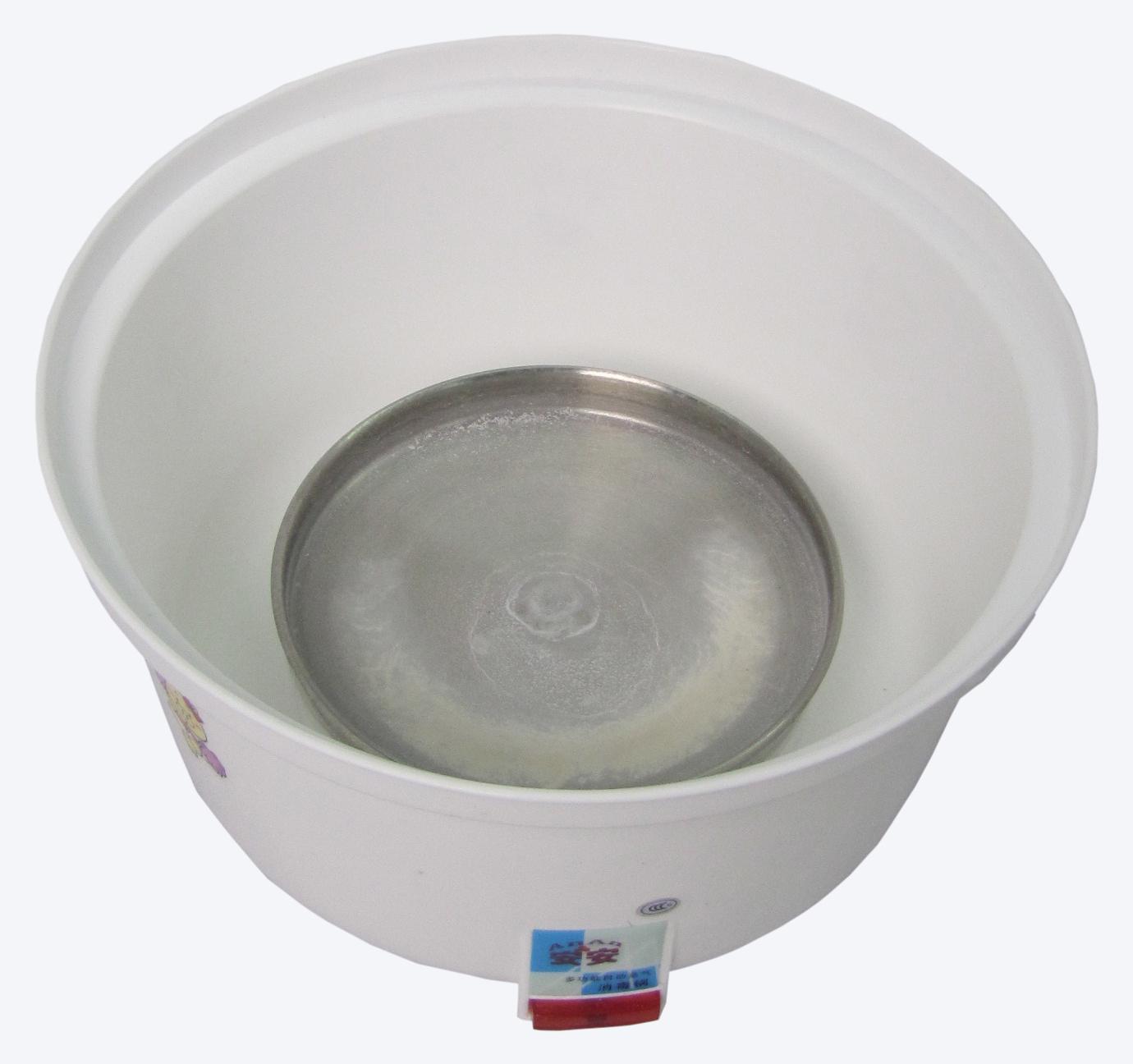 清除水垢的方法:往电热盘倒入食用米醋或柠檬酸