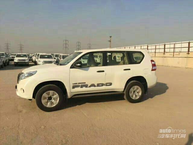 17款丰田霸道2700 天津港裸车最低报价最新市场行情