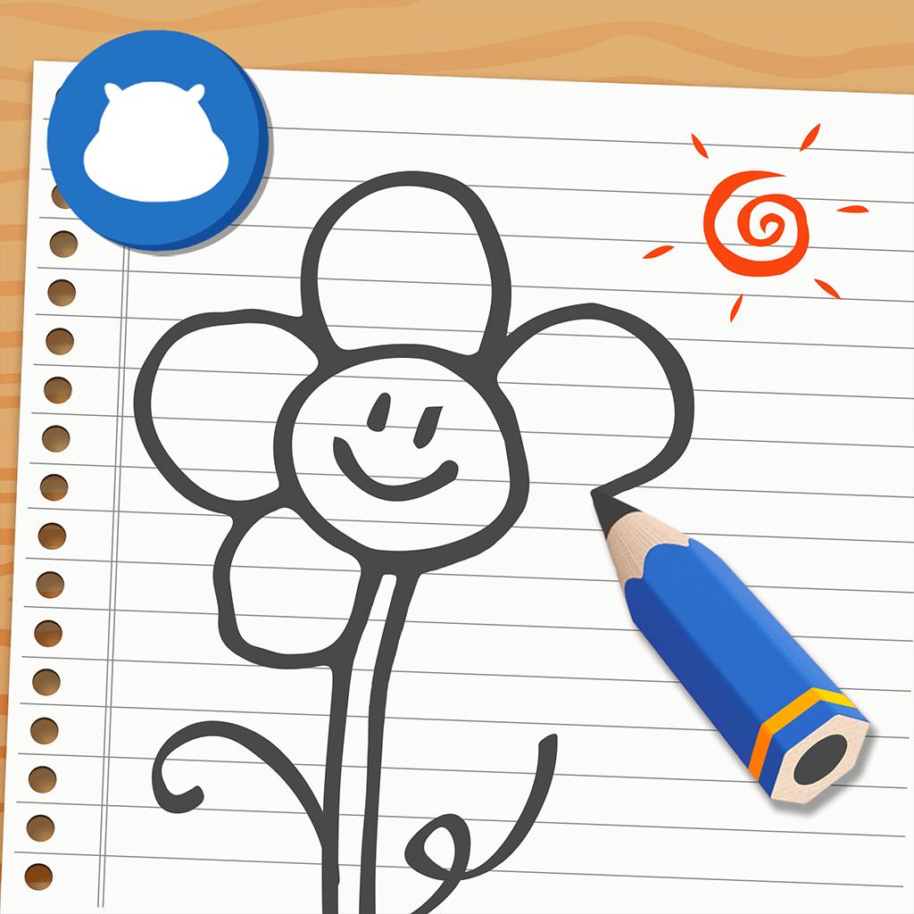 《河小马学画画-线条篇》是一款缤纷可爱