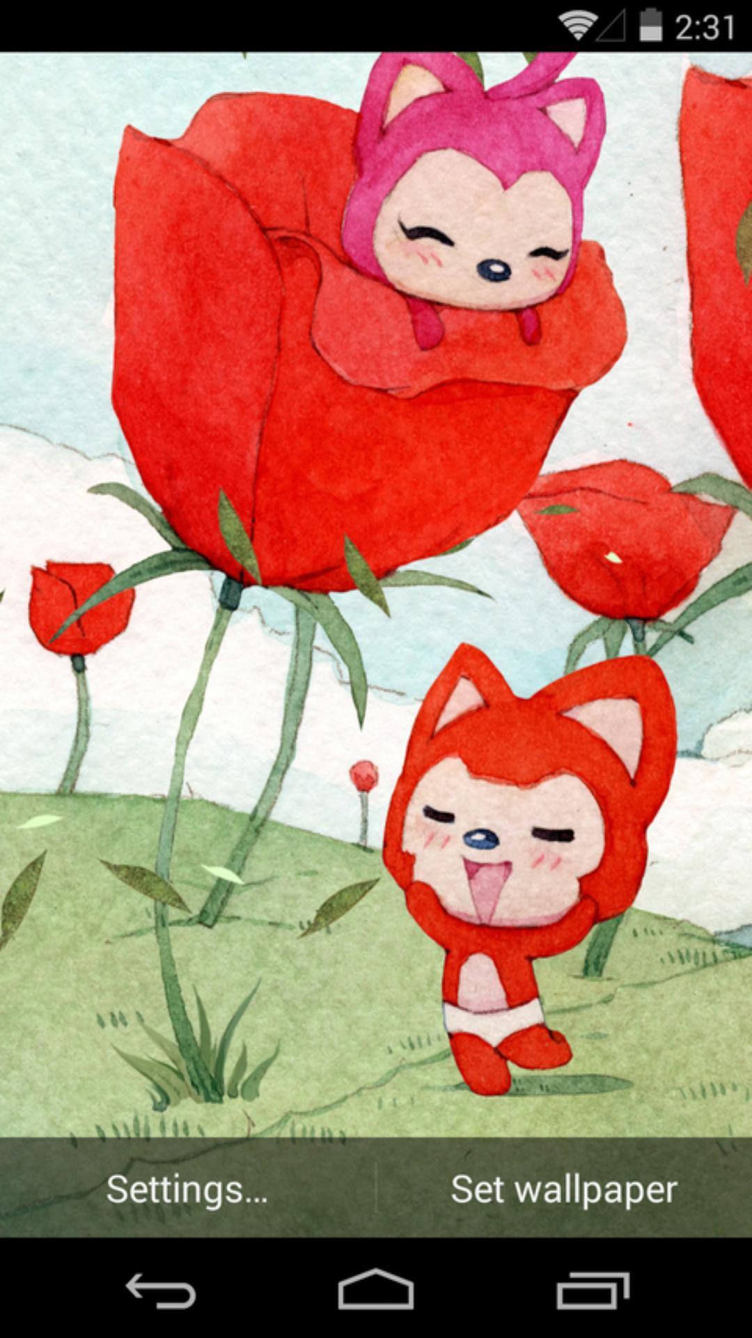 《 阿狸之春天-梦象动态壁纸 》截图欣赏