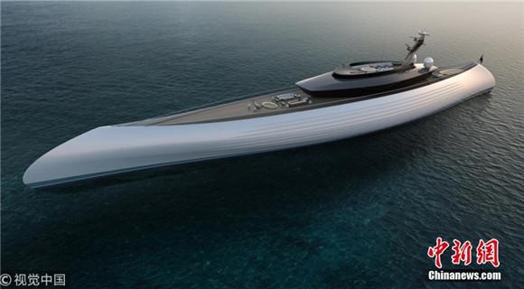 """荷兰设计超级豪华游艇 外形酷似""""古老""""独木舟"""