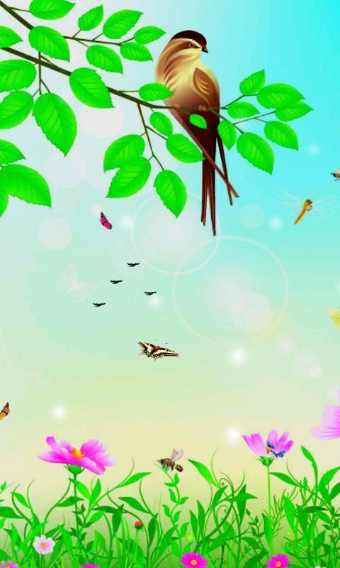 《 鸟鸣春意闹-绿豆动态壁纸 》截图欣赏