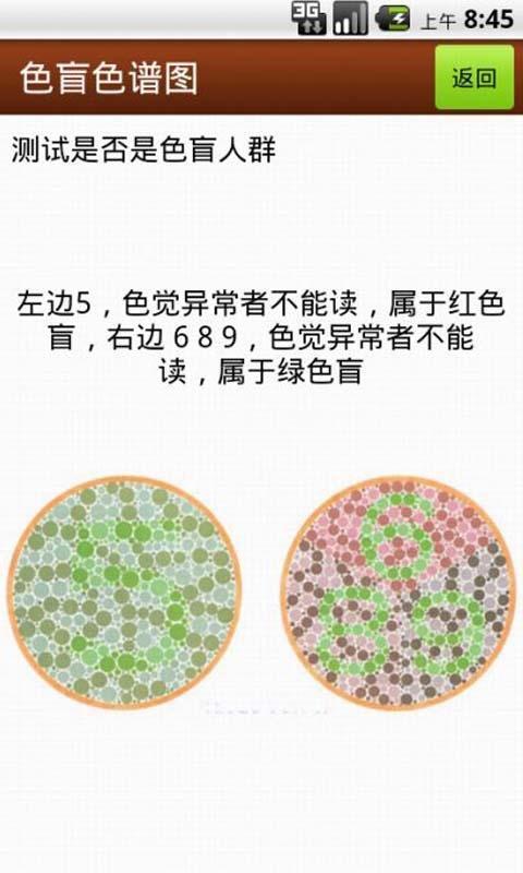 色盲色谱图截图3