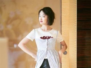 刘亦菲裙裤叠穿,原来这才是18年最时髦的打开方式~