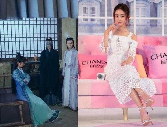 赵丽颖心目中的女神,在青云志中展示了碧瑶坐,受大家热捧,而在现实生图片