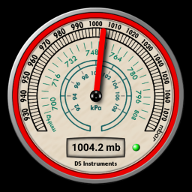 DS晴雨表-空气压力