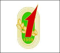 会徽 会徽十分朴实,直接和传统,由金色的跑道,金色的麦穗和夸张的红1