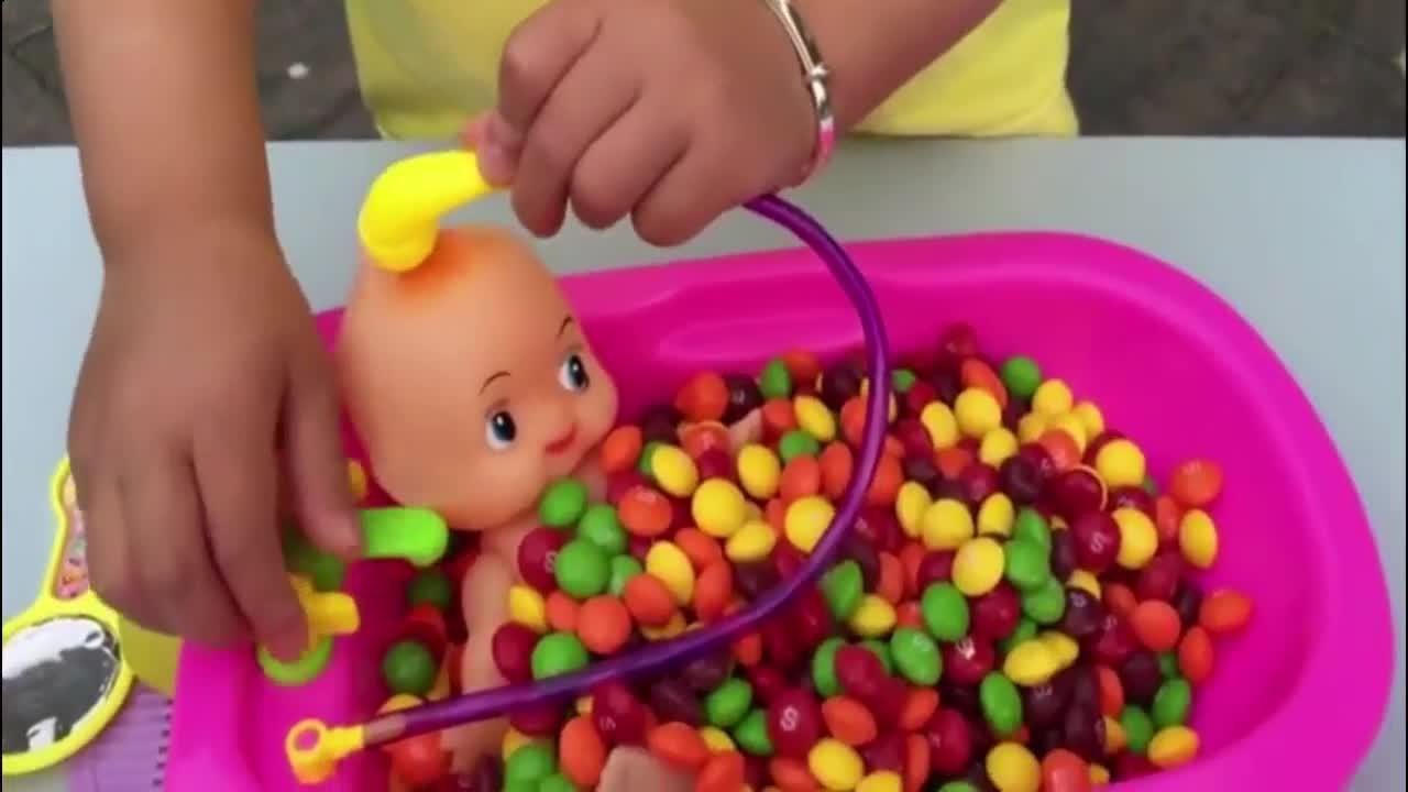 北美热卖玩具-娃娃与糖果过家家