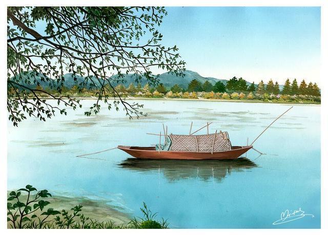 米蒂的风景水彩画欣赏