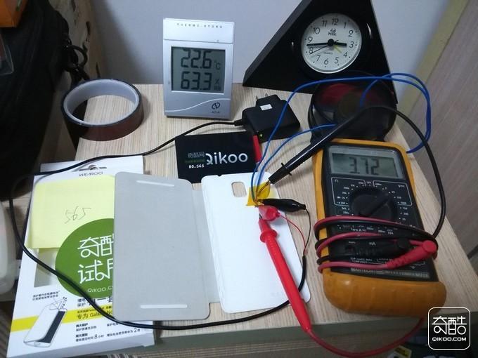 按压前电量指示灯显示还有电