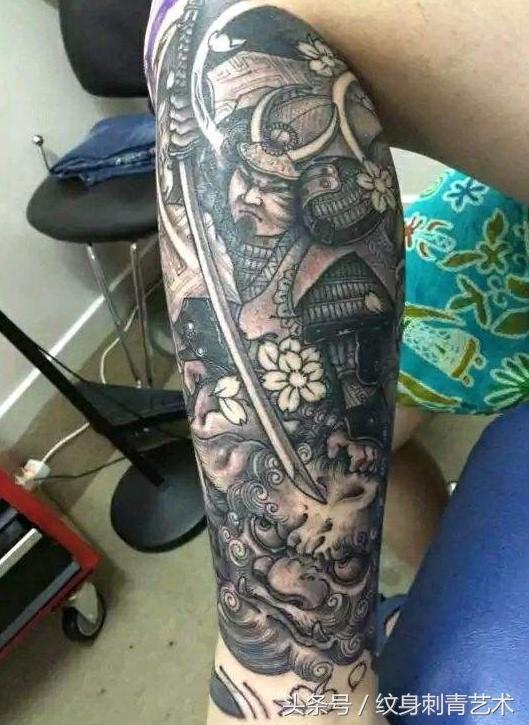 霸气武士纹身,有人要的