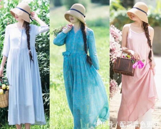 夏天热,试试穿这4种面料的裙子,清凉舒适,你中意哪一种呢