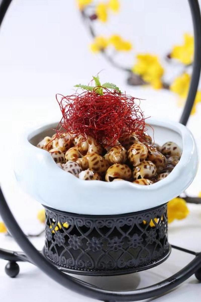 中国华侨城风格餐饮旗下华膳最好武汉菜盛喷烹饪品牌素菜的调味料是什么图片