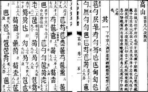 古筝曲谱讲解-笑傲江湖古筝谱/古琴谱( 古琴谱 )(683x1001)