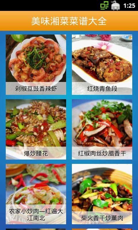 美味湘菜菜谱大全截图3