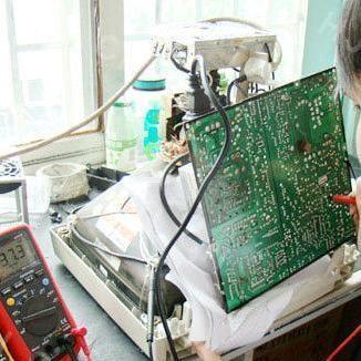 显示器维修,更换电源板