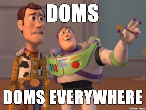 DOMS, DOMS EVERYWHERE