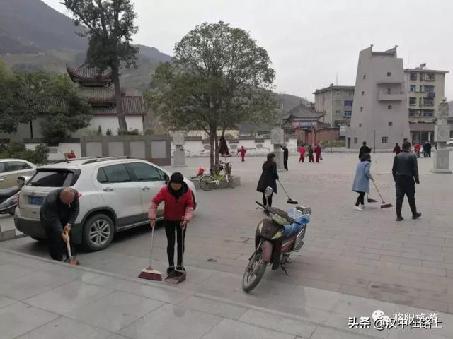 汉中略阳文旅局上下联动为城区市容环境出力