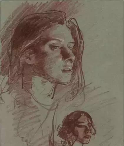 俄罗斯素描画家怎么处理素描关系 ART 第27张