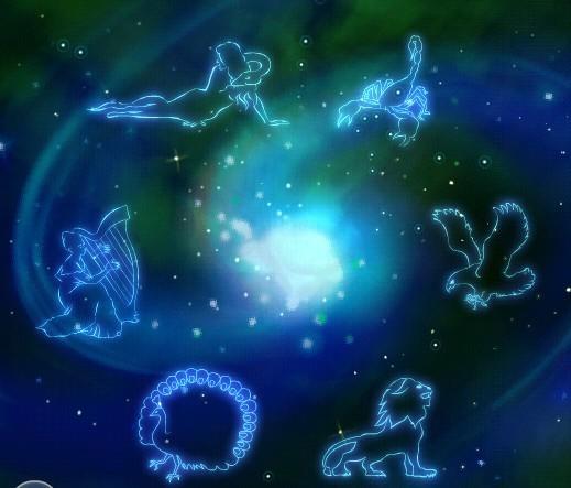 qq头像水瓶星座的星空